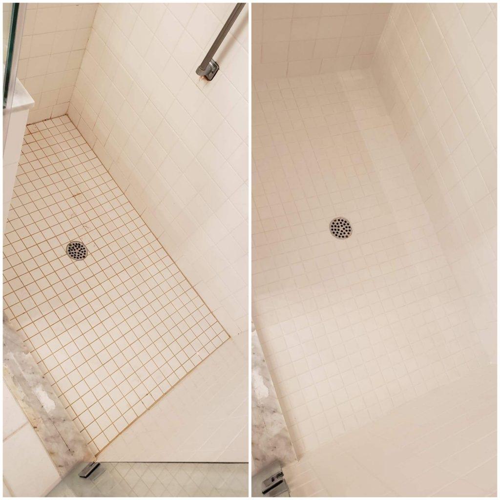 Brandon Shower Tile Restoration